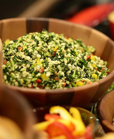 季節のチョップドサラダ